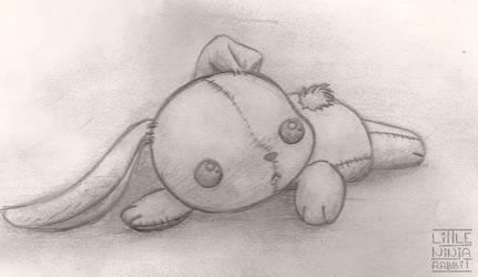 rabbit toy by little-ninja-rabbit
