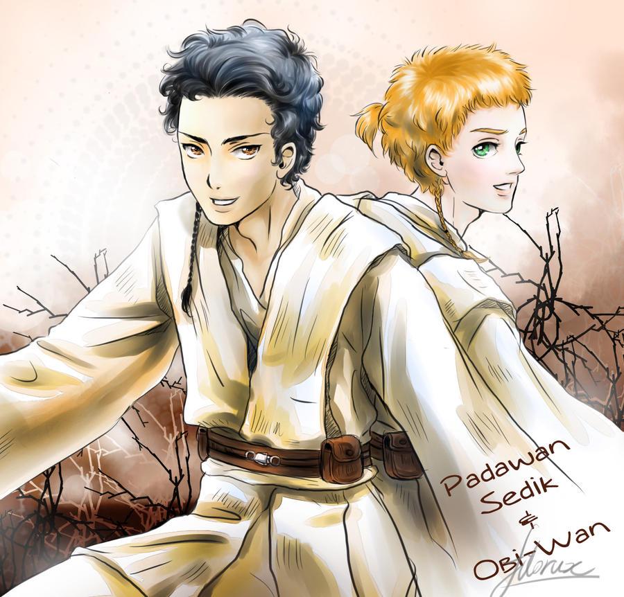 Sedik and Obi-Wan
