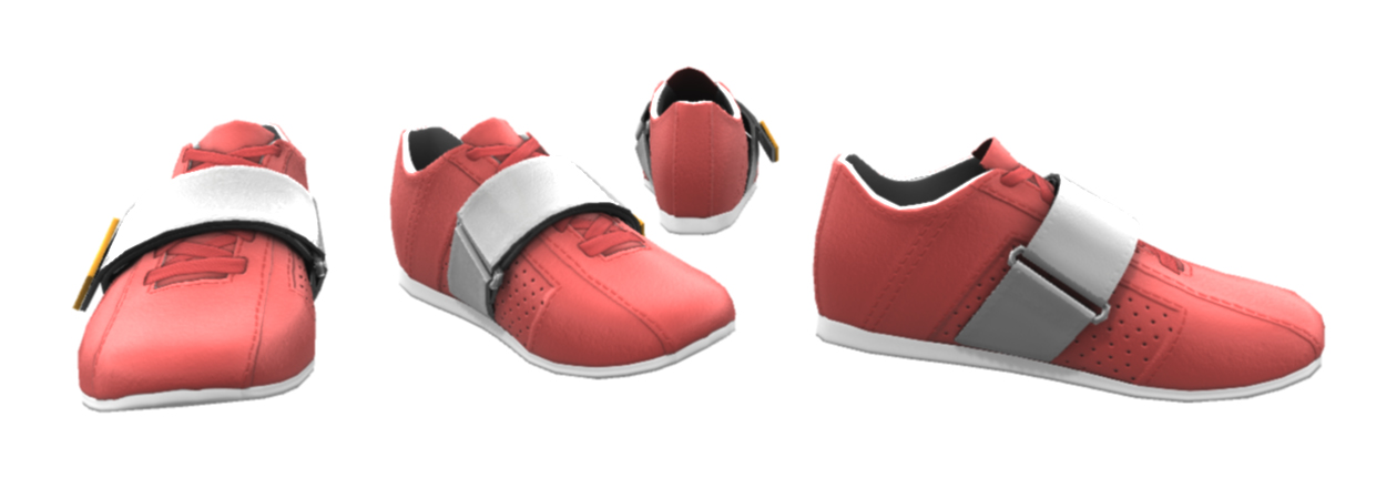 3D Running Shoes by martyisnothere