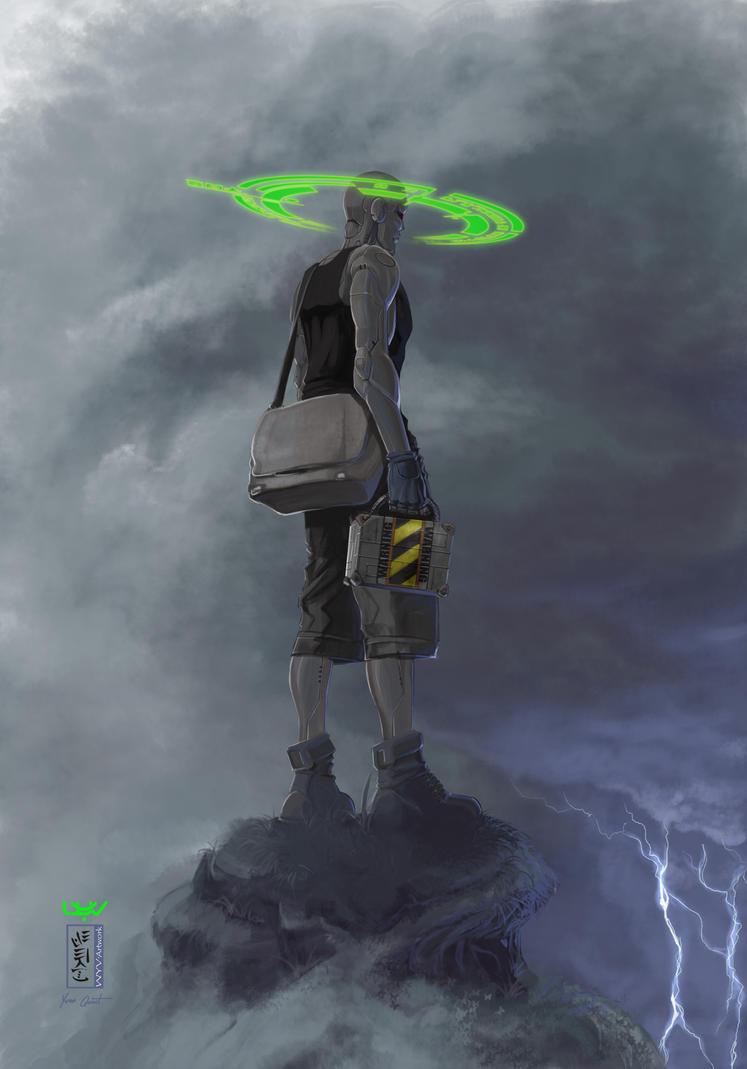 --Green Halo-- by wyv1
