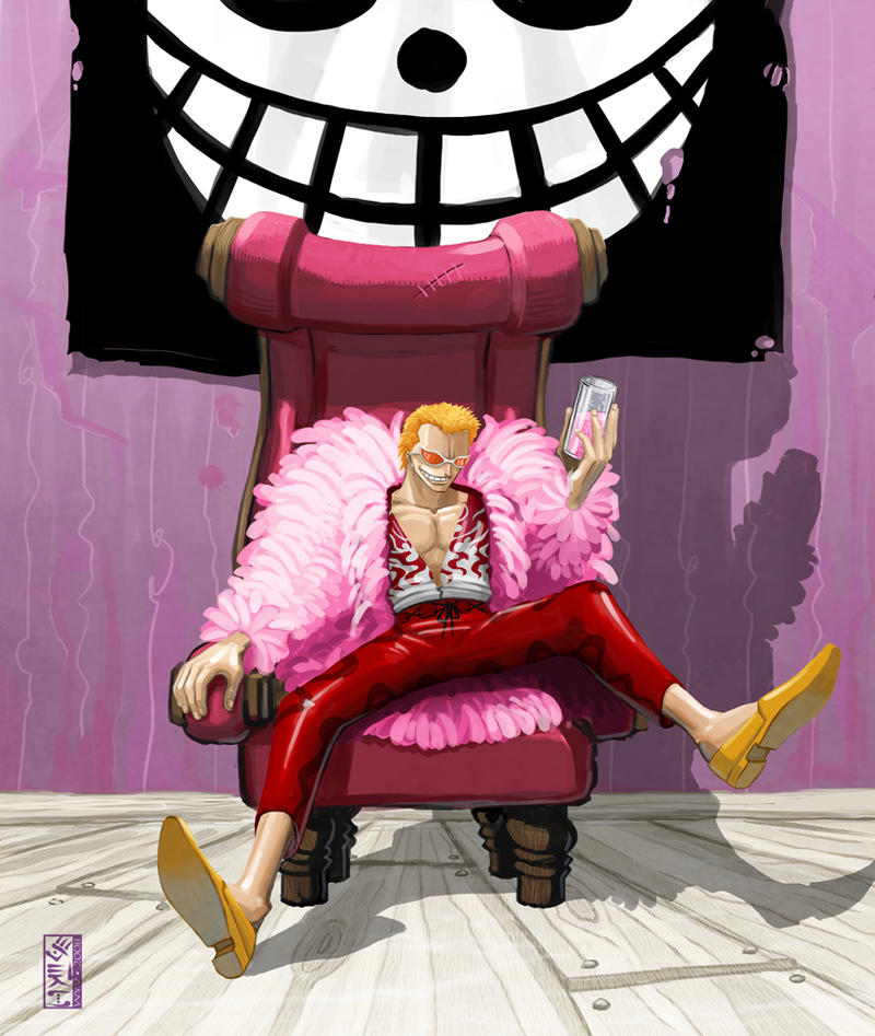 -- Pink Doflamingo -- by yvanquinet