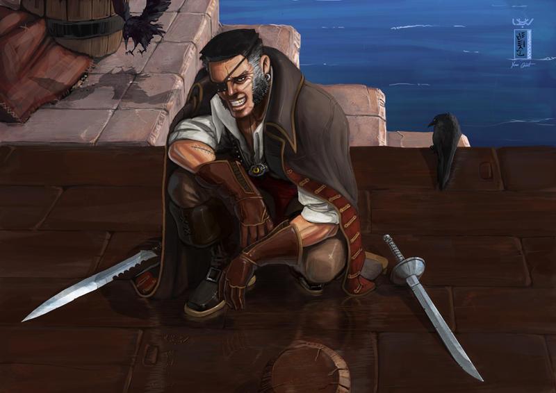 -- Pirate -- by wyv1