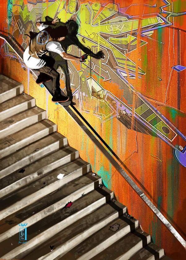 -- Skate Four -- by wyv1