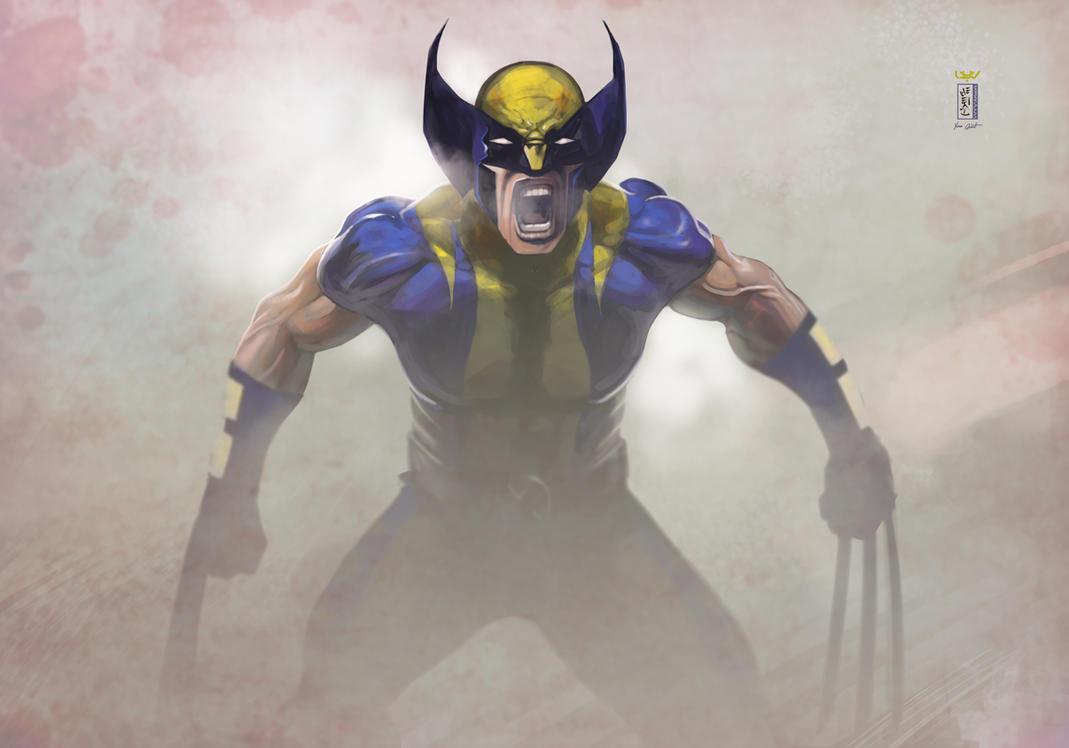 -- Wolverine -- by wyv1
