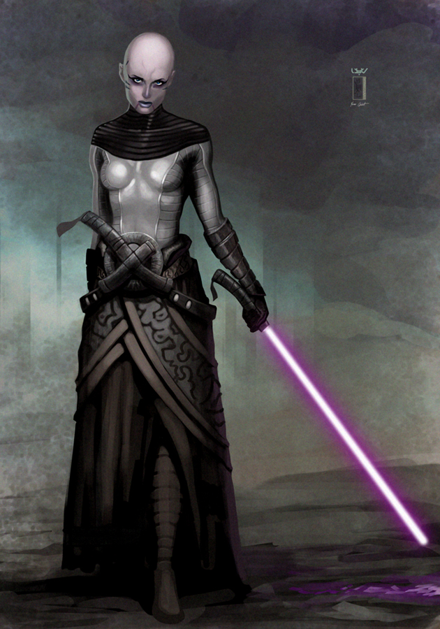 -- Asajj Ventress -- by wyv1