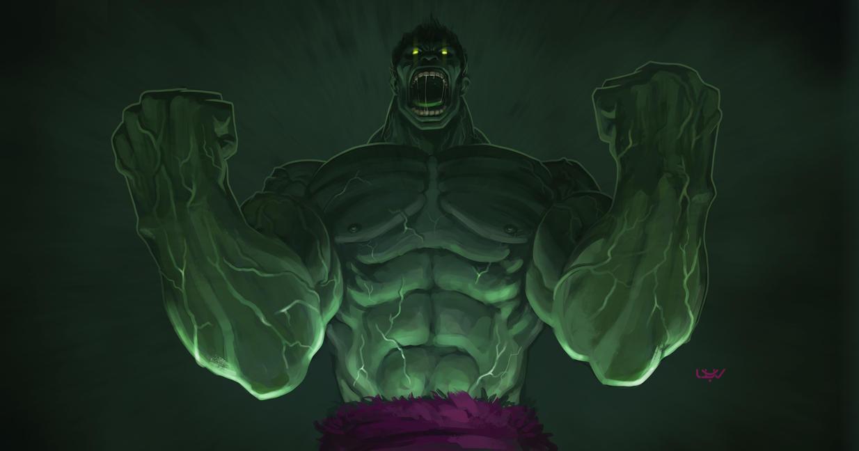 -- Hulk -- by wyv1