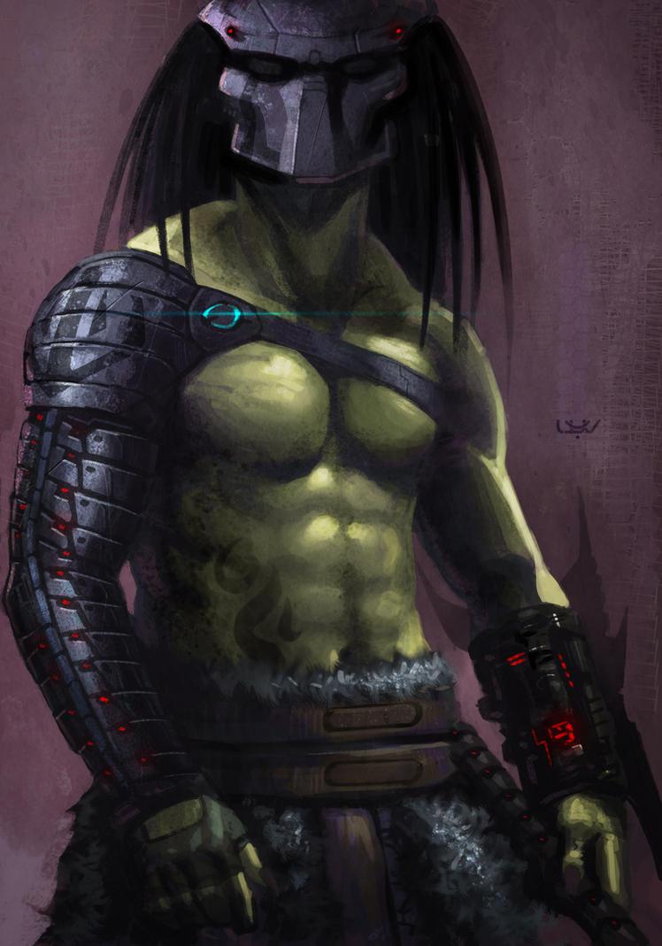 -- Barbarian Yautja -- by wyv1