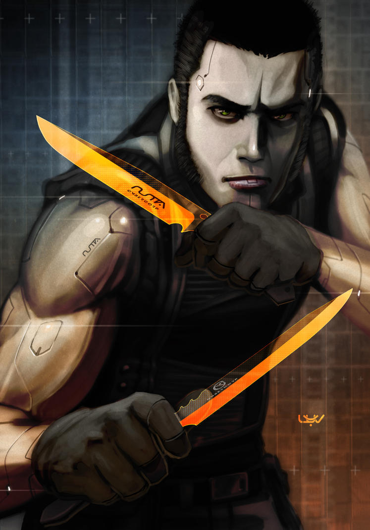 -- O Range Knives -- by wyv1