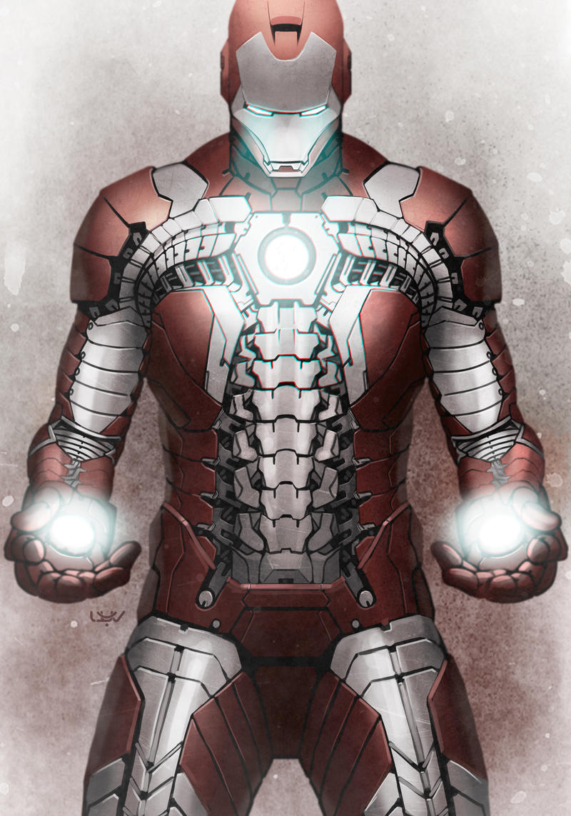 Comics Forever, Iron Man: Mark V // artwork by Yvan Quinet ...