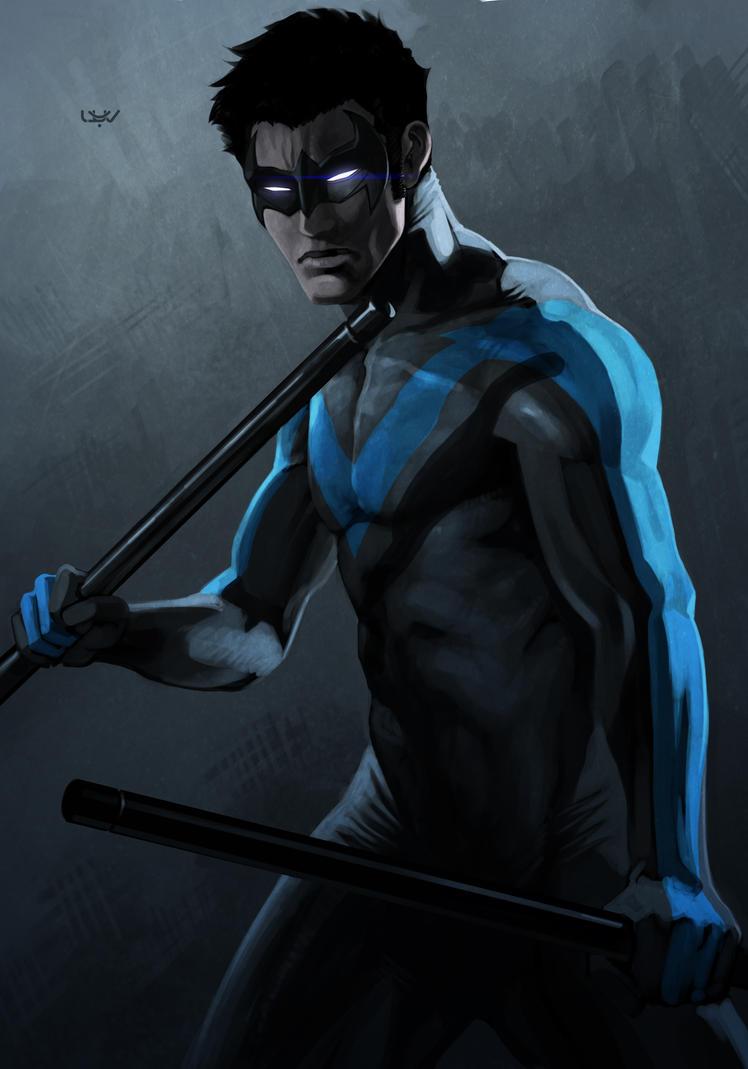 -- Nightwing -- by wyv1