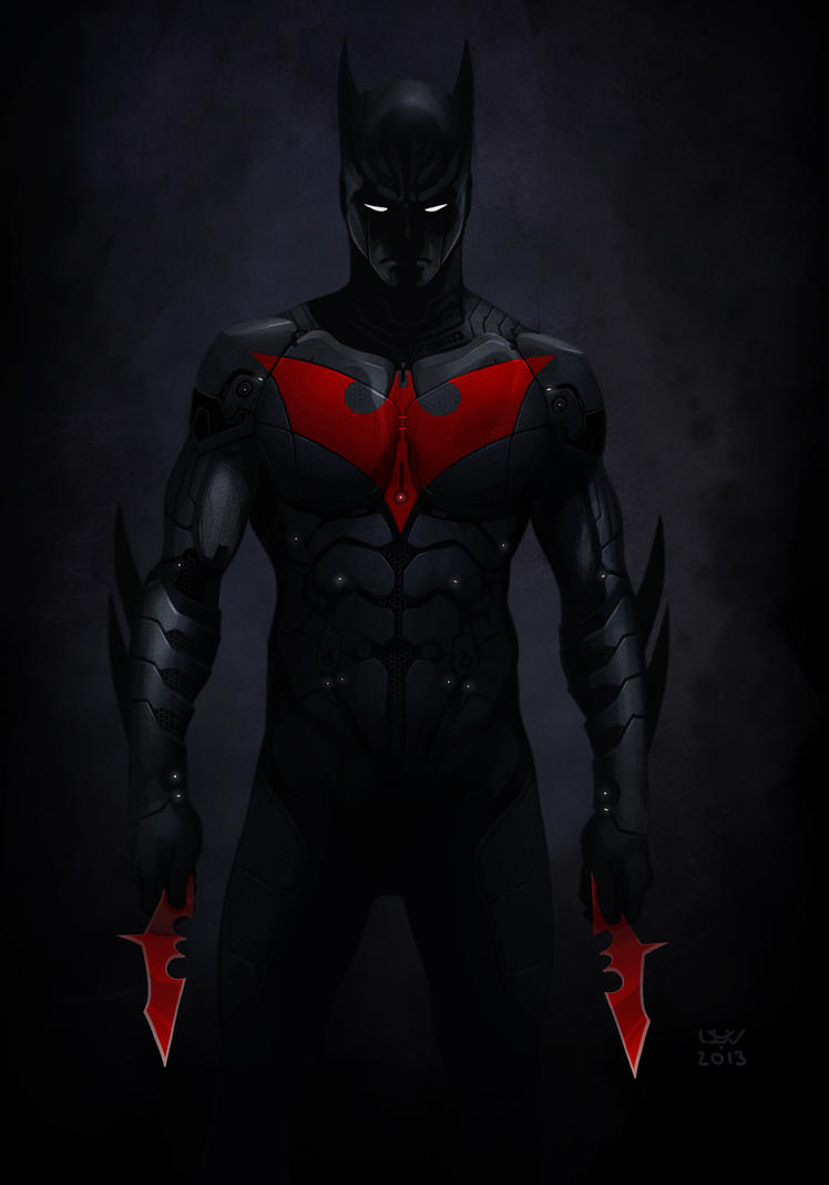 Batman Beyond by yvanquinet