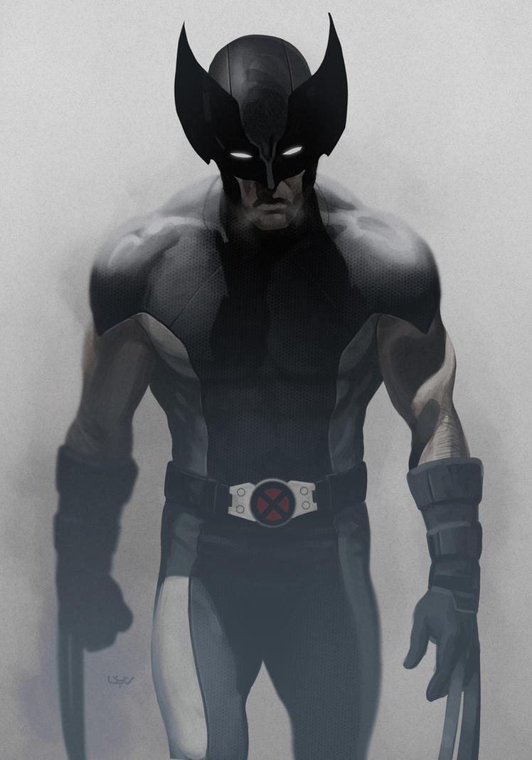 -- Wolverine X Force -- by wyv1