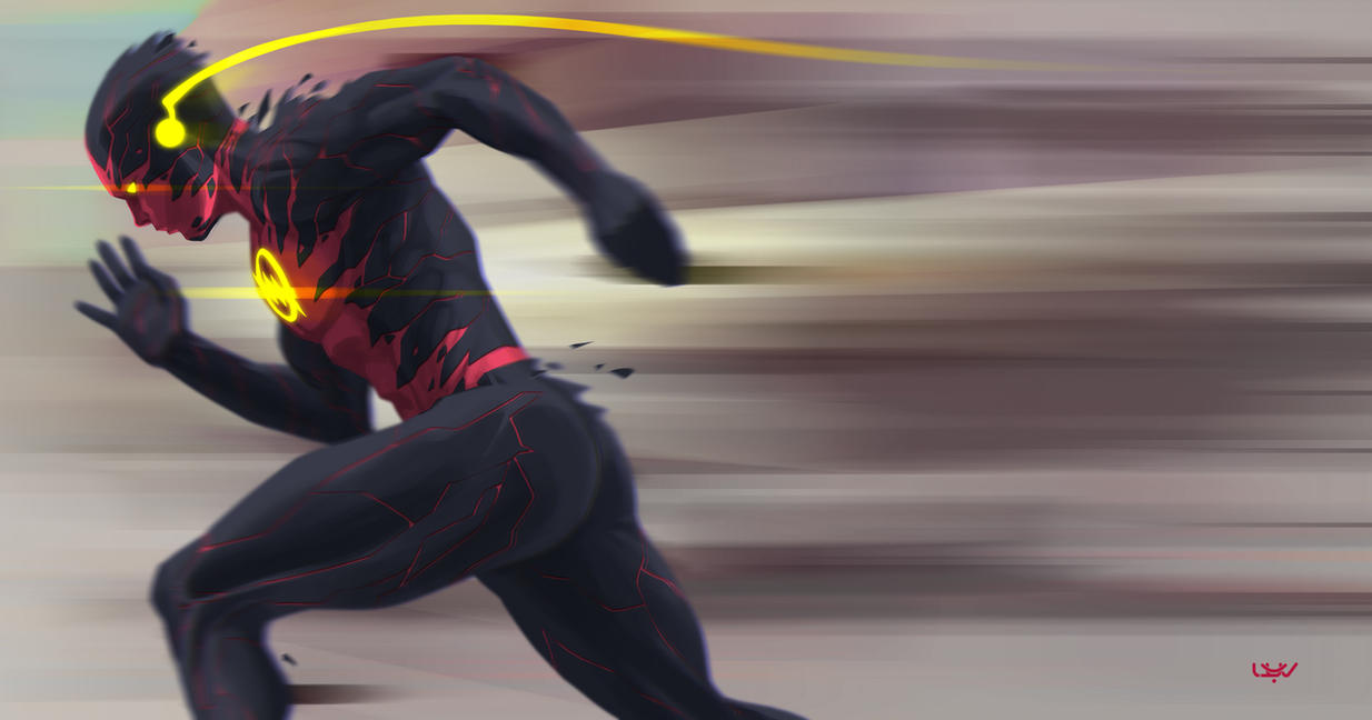 Reverse Flash New 52 Wallpaper Reverse Flash -- by wyv1