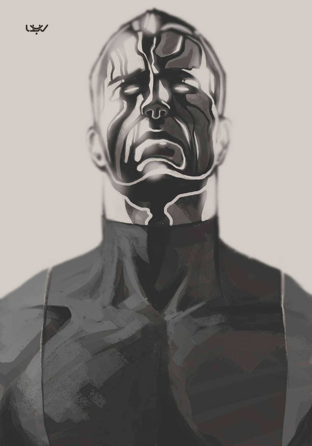 -- X sketch 04 -- by yvanquinet