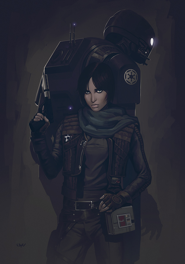 -- Rogue One -- by wyv1