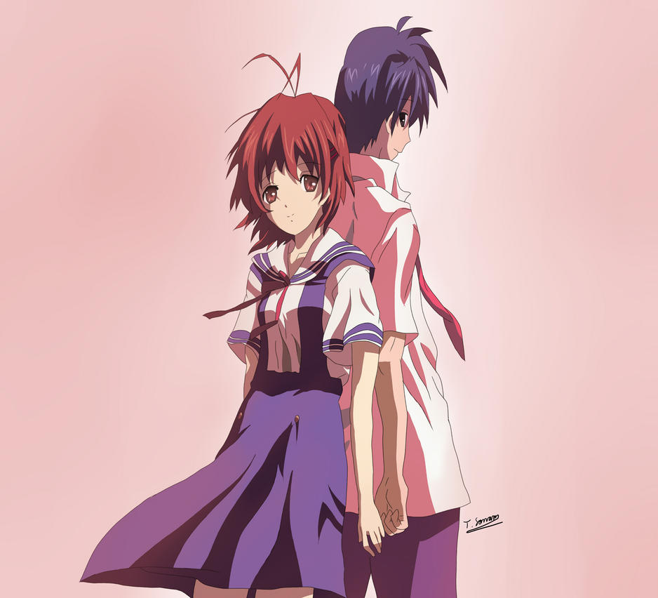 Clannad - Tomoya Okazaki and Nagisa Furukawa by ...