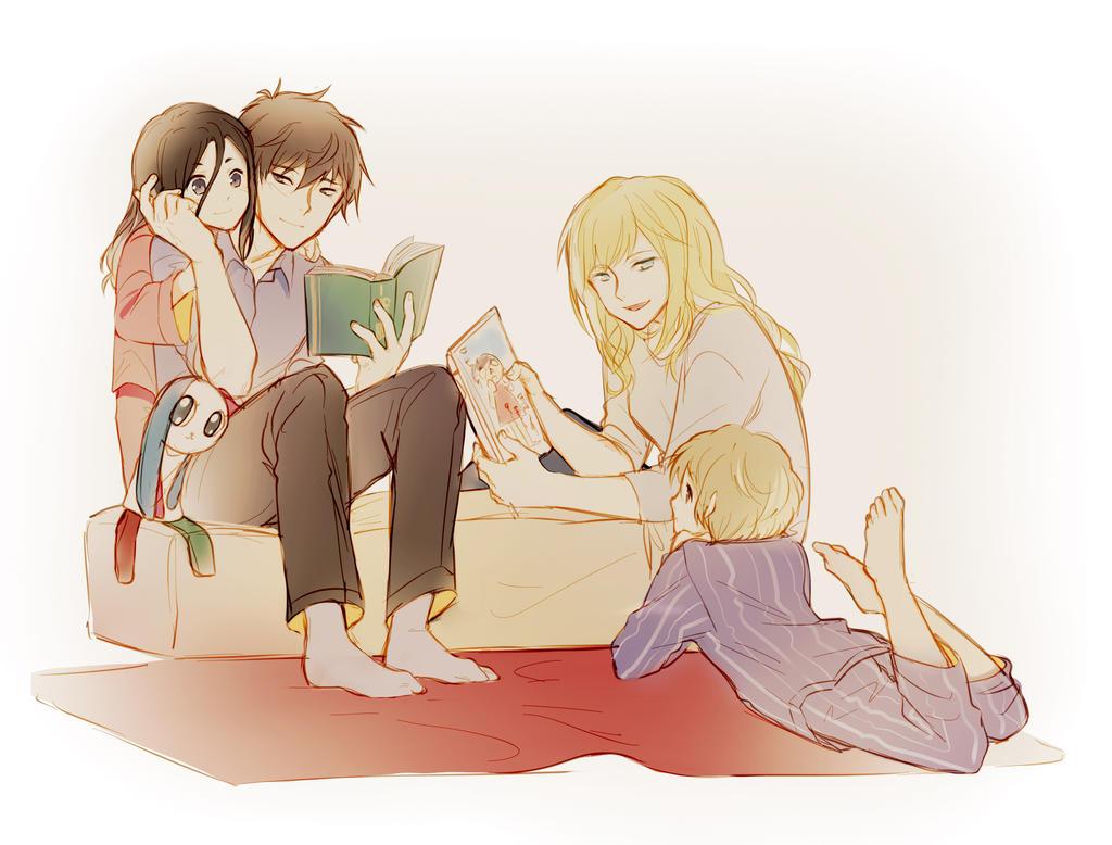 :Nishimura family: by Nacura-G