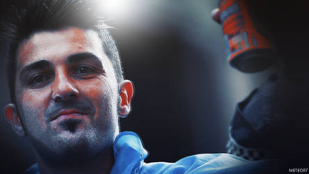 David Villa Wallpaper by meteorblade