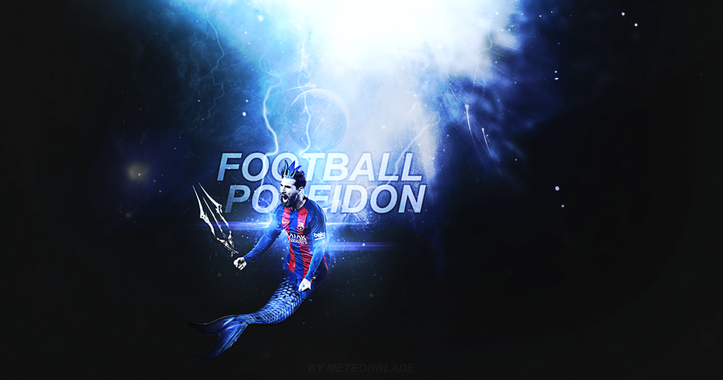 THE FOOTBALL POSEIDON by meteorblade