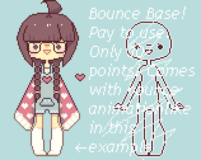 Tempting pixel base chubby are