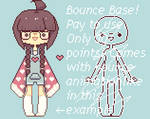 Animated Bounce Base 30p by nyanami