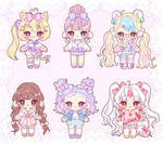 [Adopts] Pretty Girls (4/6 OPEN) PRICE REDUCED by nyanami