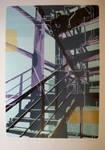 Stairs of Printmaking Department