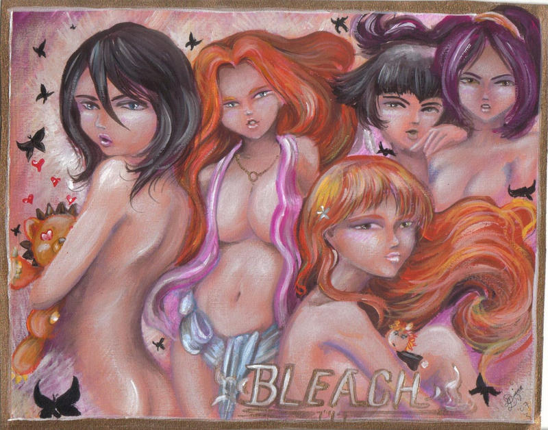 Bleach Girls by BlackAngel-Diana