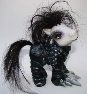 Edward's new look