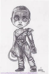 Chibi Imperator Furiosa by BlackAngel-Diana