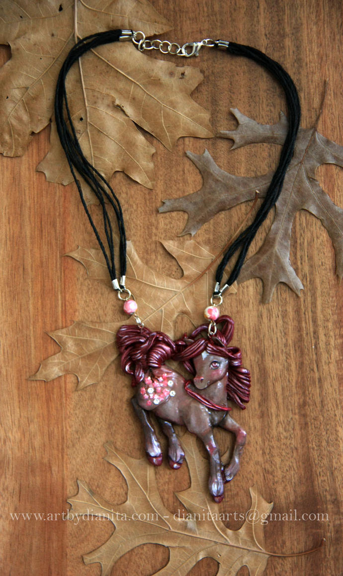 Sakura Statement necklace - Custom sculpture by BlackAngel-Diana