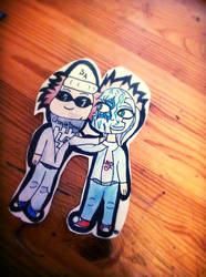 Hollywood Undead | Paper| Jhonny and Charlie by Hundeader
