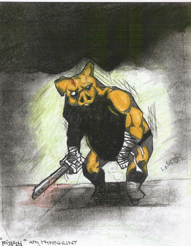 Pigsy-Manhunt By Twilight-Eclipse722 On DeviantART