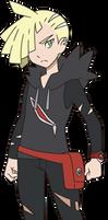 Gladion: Official Anime Artwork