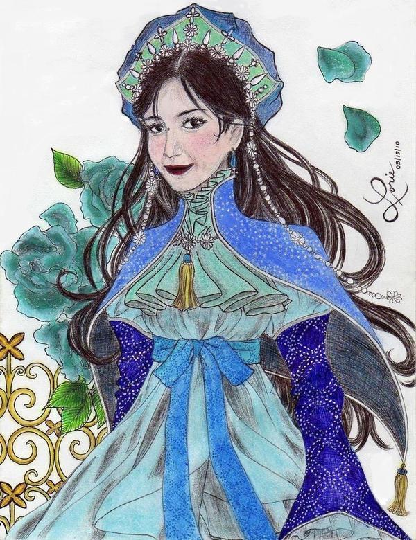 Madamoiselle Lorie by eirol87