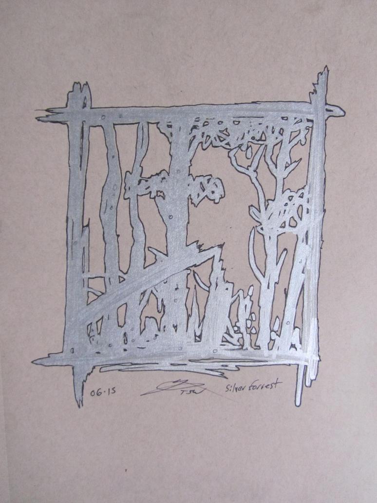 Silver Forest by warnertoddjames