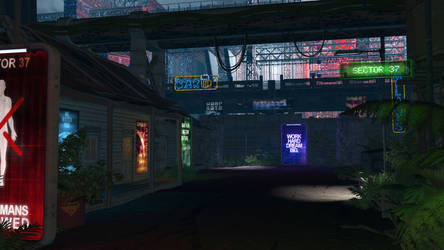 Sector 37 - Entry for Neon Challenge by Unity