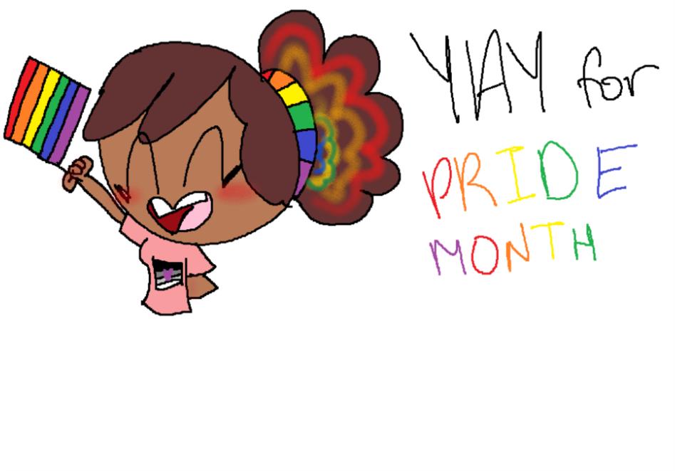 Yay Pride Month by chibigirl2277