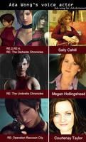Ada's voice actors