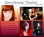 Interview with Courtenay Taylor