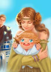 Skywalker family by yunzhi-zz