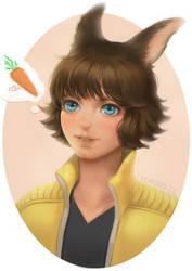Bunny by yunzhi-zz