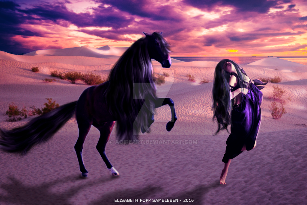 Desert Dreams by AoifeArt