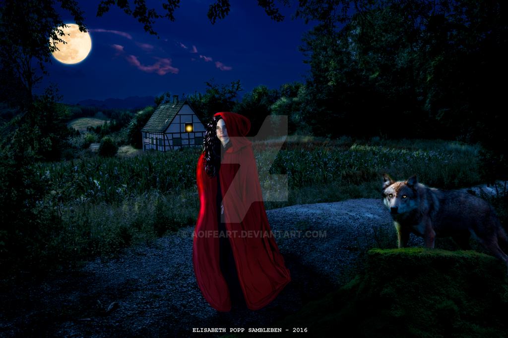 Little Red Ridinghood by AoifeArt