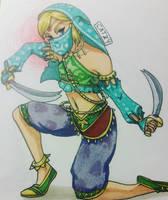 Gerudo Link. Thank you Nintendo. by catnip577