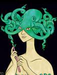 Octopus Masquerade colored