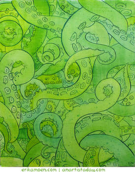 Tentacle Painting