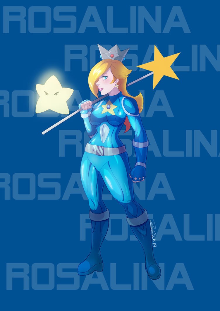 rosalina badass by zelmarr on deviantart