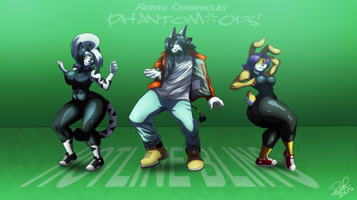 Phantomops Hotline Bling Wallpaper by Zelmarr