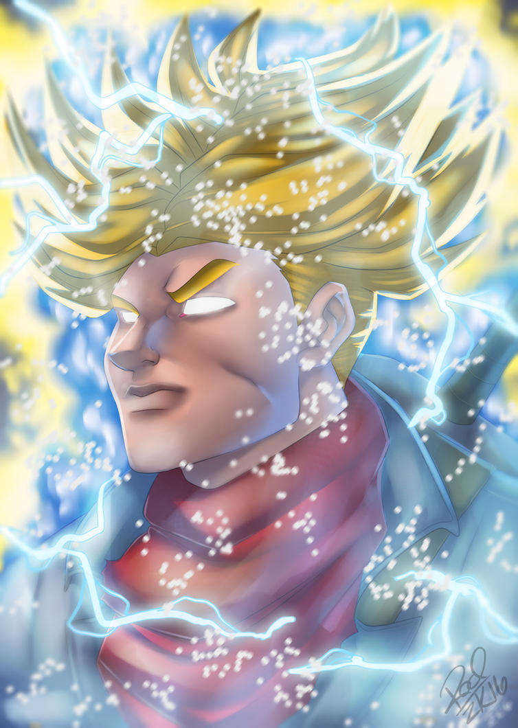 Super Trunks New Form by Zelmarr